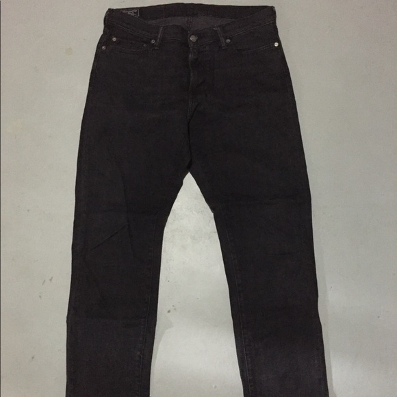 Abercrombie & Fitch Other - Abercrombie Black Washed Denim Jean